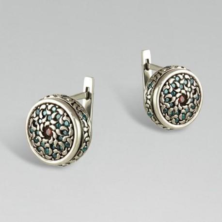 Серебряные сережки АЛЬБИНА