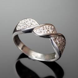 Серебряное кольцо Виктория