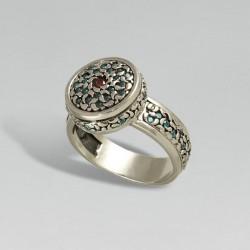 Серебряный перстень АЛЬБИНА
