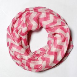 Женский шарф-хомут из вискозы, весна-лето