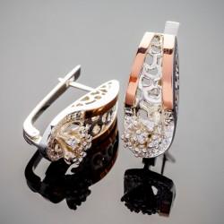 Чудо - женские серебряные серьги