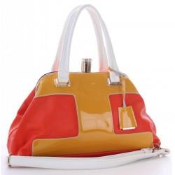 Яркая сумка Velina Fabbiano с короткими ручками