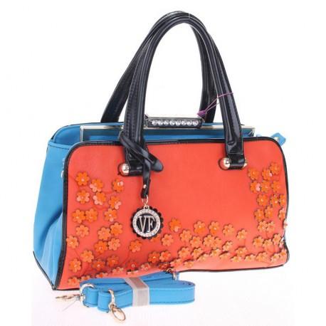 Яркая сумка-чемоданчик Velina Fabbiano