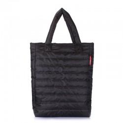 Стеганая сумка Poolparty PUFFY (черный)