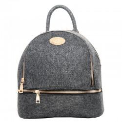 Войлочный рюкзак на молнии