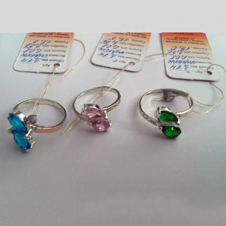 Женское серебряное кольцо Ольвия