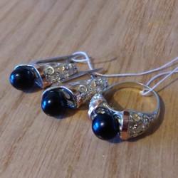 Парадиз - серебряные украшения с жемчугом