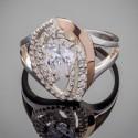 Серебряное кольцо Грейс