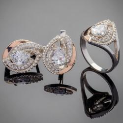 Набор серебряных украшений Грейс