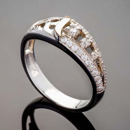 Серебряное кольцо Лайма