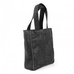 Удобная женская сумка с перфорированного войлока