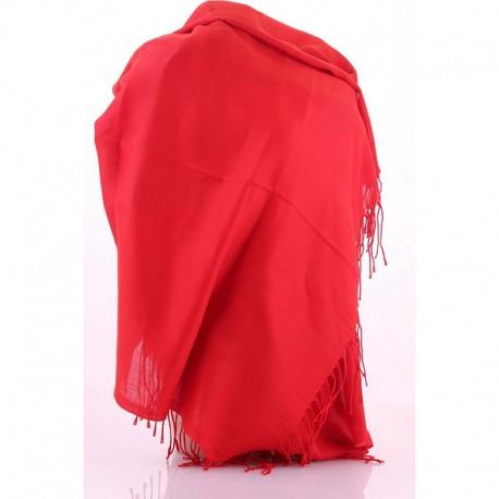 Шарф-парео яркой расцветки (красный)