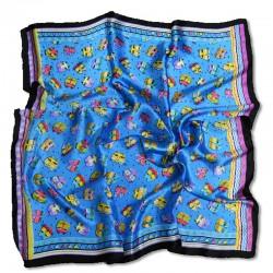 Шелковый платок 90х90 см в расцветках