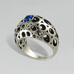 Кольцо Беата с чернением