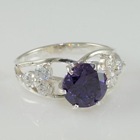 Кольцо Альфея из серебра