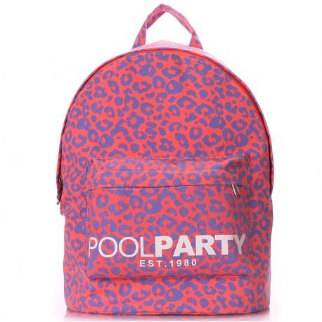 Яркий женский рюкзак BACKPACK LEO PINK