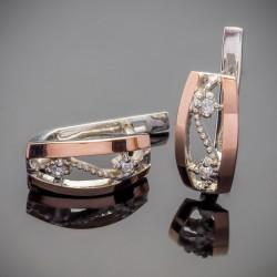 Эстель - серебряные серьги