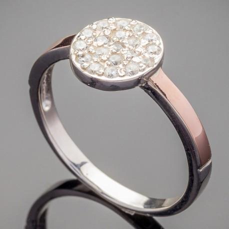 Серебряное кольцо Лия недорого
