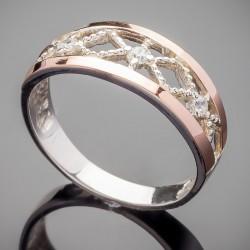 Кольцо Лонда с золотом