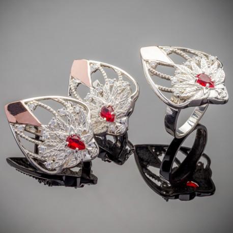 Серебряные украшения Карнавал