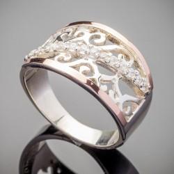 Широкое кольцо Зарина