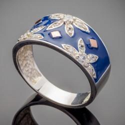 Женское серебряное кольцо Фатима
