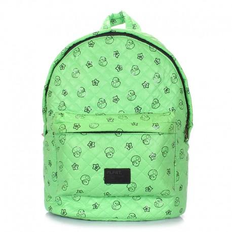 Рюкзак Poolparty DUCKS (зеленый)