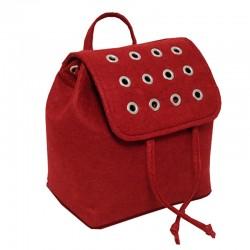 Войлочный рюкзак с заклепками