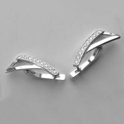 Серебряные серьги Даля