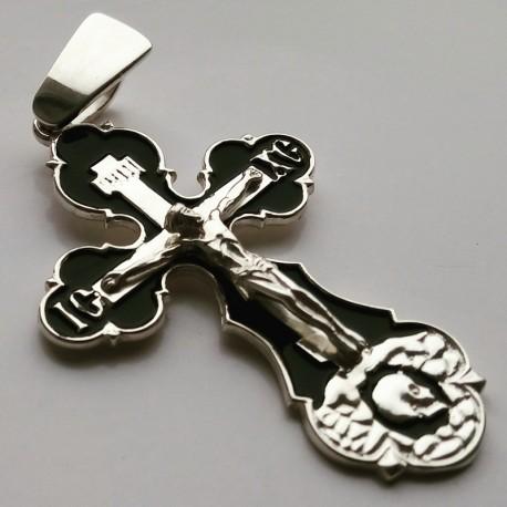 Крест из серебра с распятием