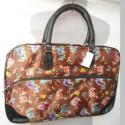 Дорожная сумка 50 см с карманом, текстиль