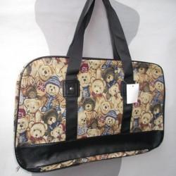 Недорогая дорожная сумка 52 см с принтом