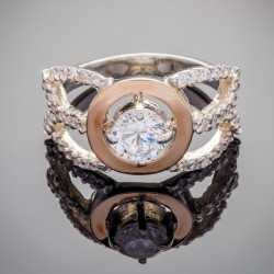 Серебряное кольцо Даяна