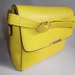 Квадратная сумка-клатч из эко-кожи