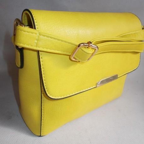 Квадратная сумка-клатч (желтый)