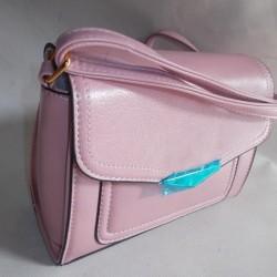 Женская сумочка на ремне (розовый)