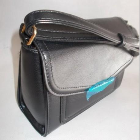 Женская сумочка на ремне (Черный)