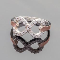 Кольцо Диор со знаком бесконечности