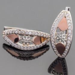 Мила - серебряные серьги