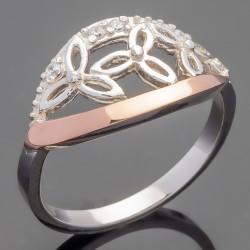 Кольцо Тифа с цветами