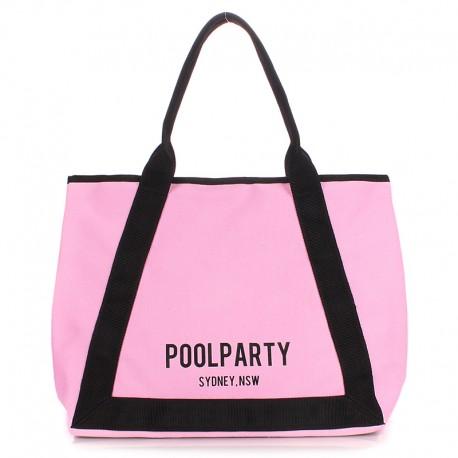 Пляжная сумка POOLPARTY LAGOONA (розовый)