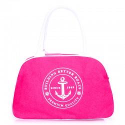 Морская сумка-саквояж (розовый)