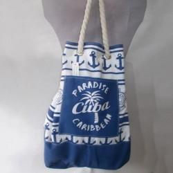 Пляжная сумка-рюкзак с якорем Paradise