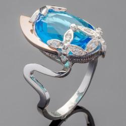 Кольцо Блеск - серебро