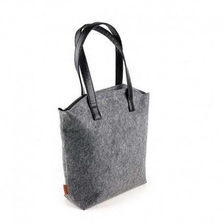 Войлочная сумка-жабка на застежке молнии
