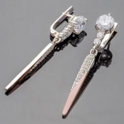 Серебряные серьги Рината