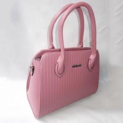 Женская сумка для работы (розовый)