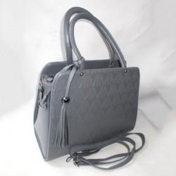 Классическая сумка осень (серый)