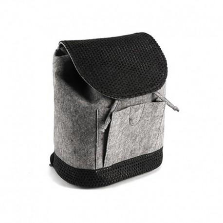 Войлочный рюкзак с перфорацией
