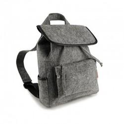 Стильный войлочный рюкзак с карманами